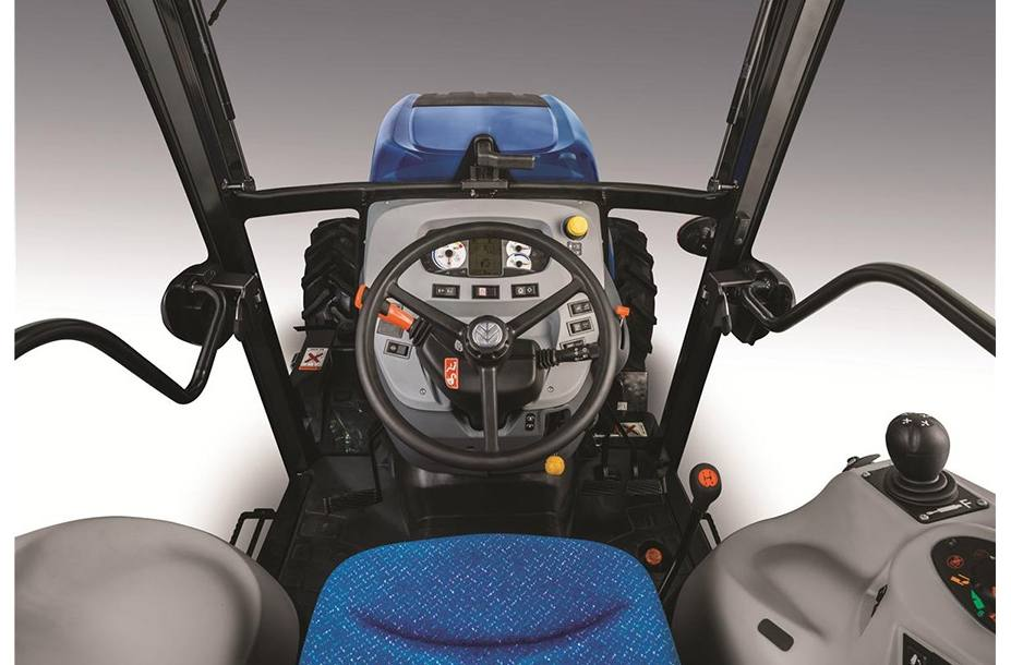 2018 New Holland Agriculture T4F Narrow Series - Tier 4A T4 90F for
