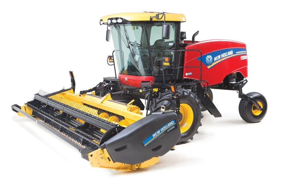 2018 New Holland Agriculture Windrower Header Haybine® 14HS
