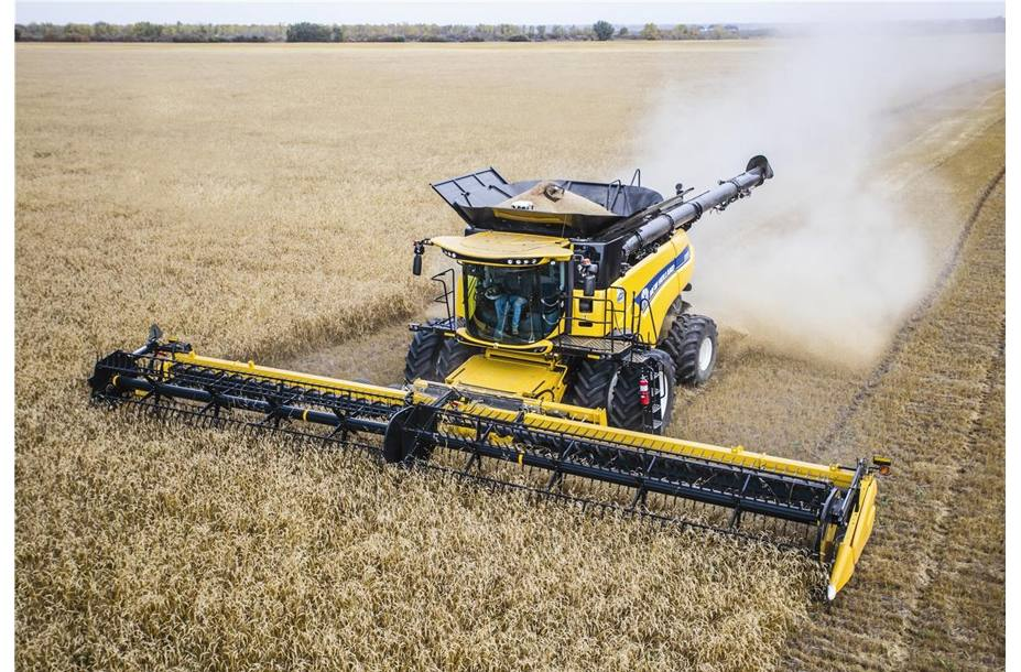 2018 New Holland Agriculture CR Series - Tier 4B Twin Rotor