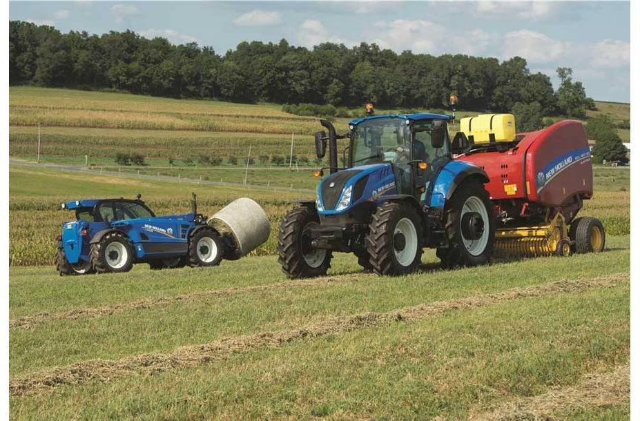 2018 New Holland Agriculture T5 Series - Tier 4B T5 100 Dual