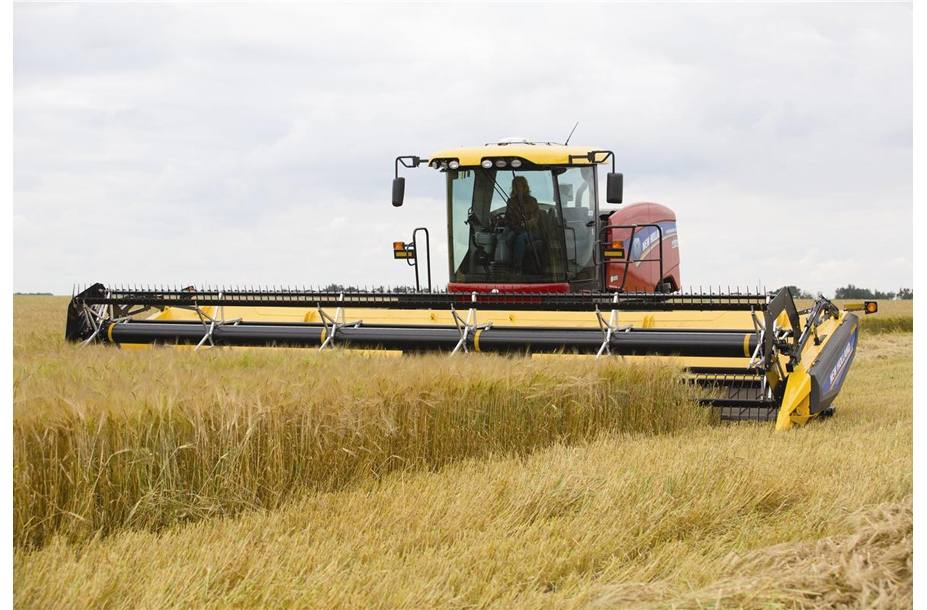 2018 New Holland Agriculture Windrower Header Durabine™ 416 for sale