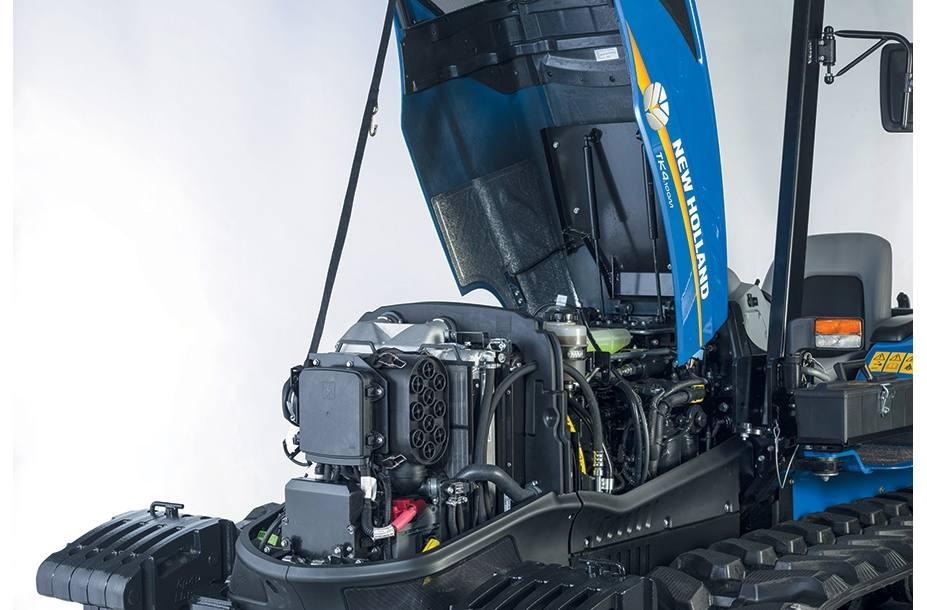 2018 New Holland Agriculture TK4 Crawler TK4 80F ROPS for