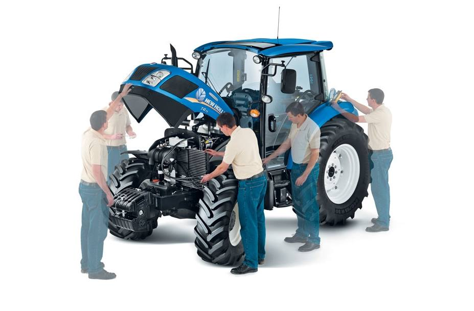 2018 New Holland Agriculture PowerStar™ T4 Series T4 75 for