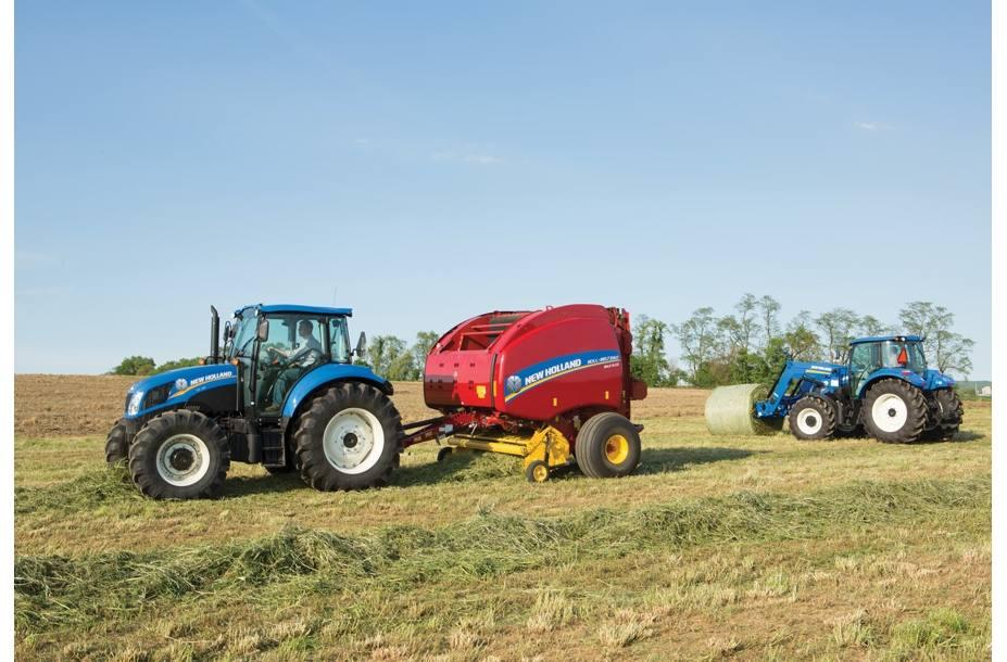 2018 New Holland Agriculture Roll-Belt™ Round Baler Roll-Belt™ 450