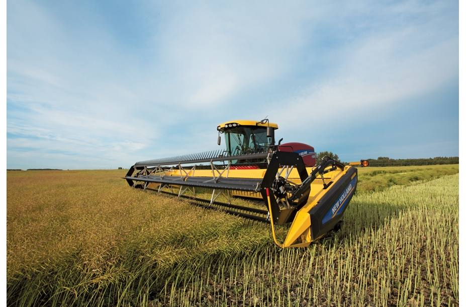 2018 New Holland Agriculture Speedrower® SP Windrower Tier 3