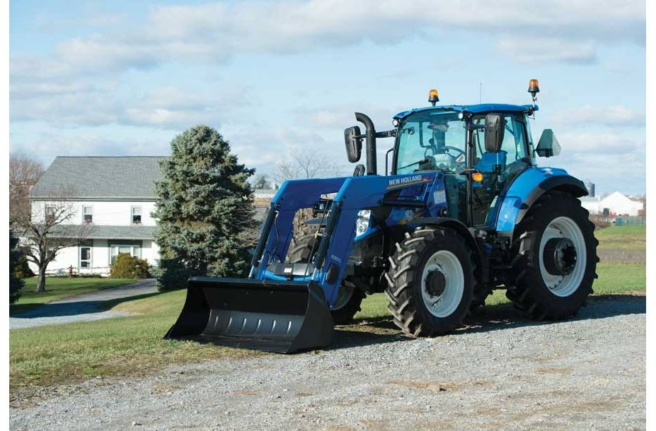 2018 New Holland Agriculture T5 Series - Tier 4B T5 120 Dual Command