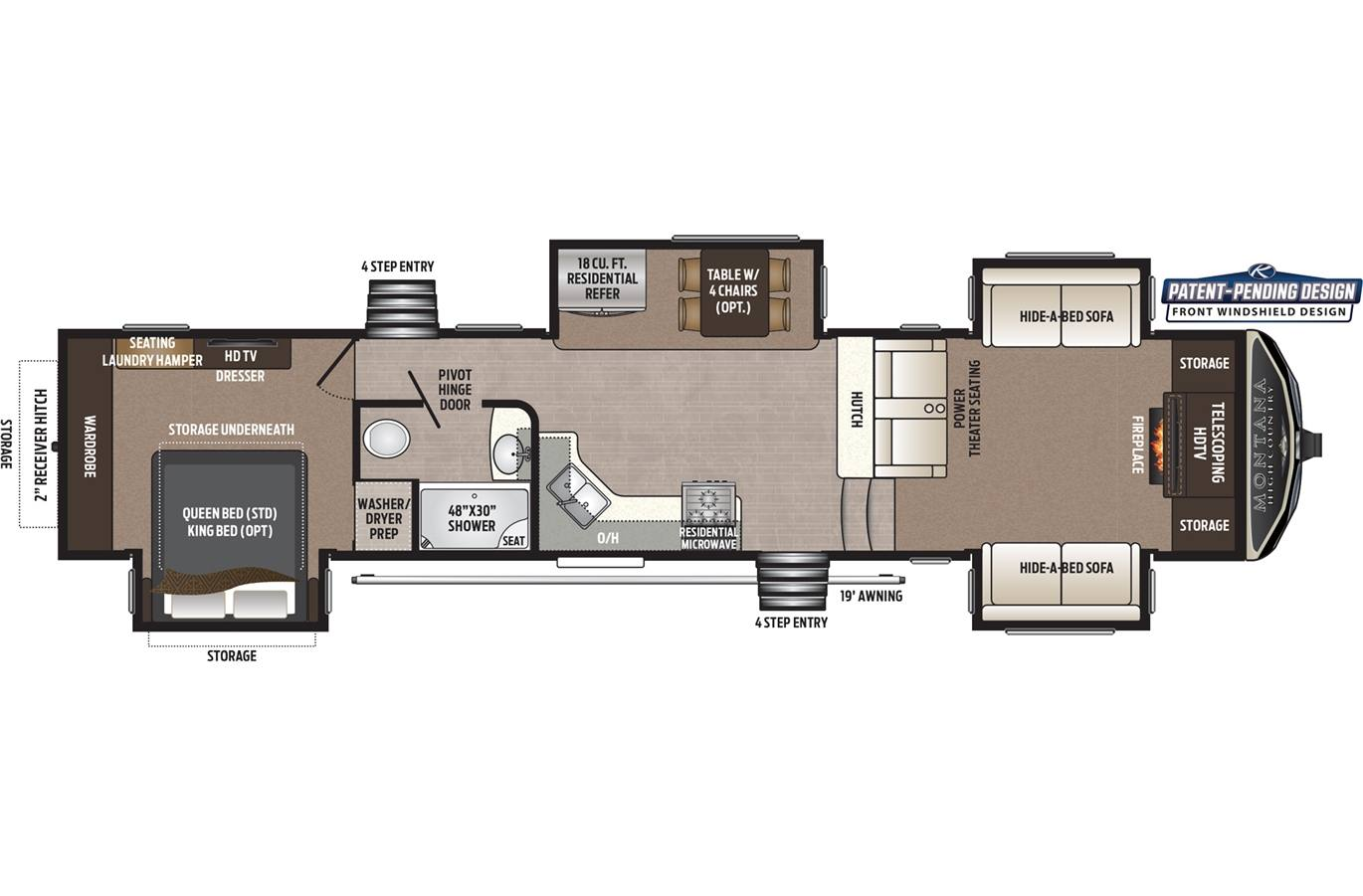 2019 Montana By Keystone High Country 375fl For Sale In Camper Wiring Diagram Previous