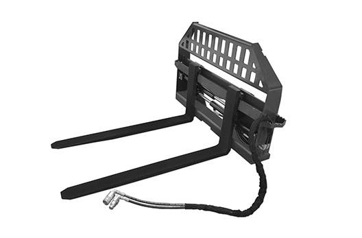 2018 Titan Implement Skid Steer Hydraulic Pallet Forks Frame for ...