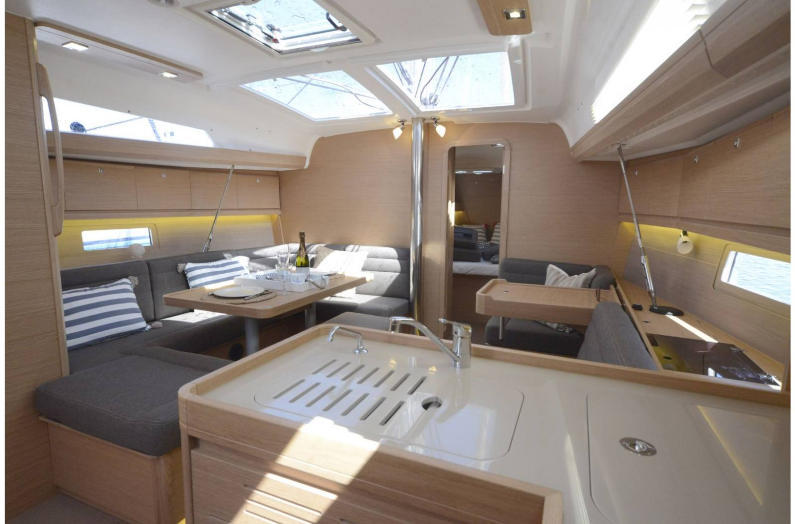 2018 Dufour Yachts 412 Grand Large For Sale In Racine Wi 3976 Fuel Filter Deck Plan