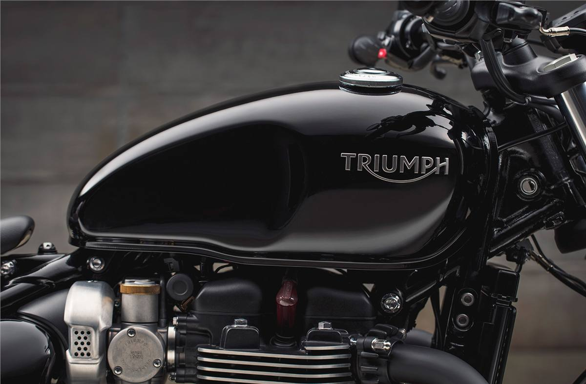 2019 Triumph Bonneville Bobber Black For Sale In Roseville Ca As