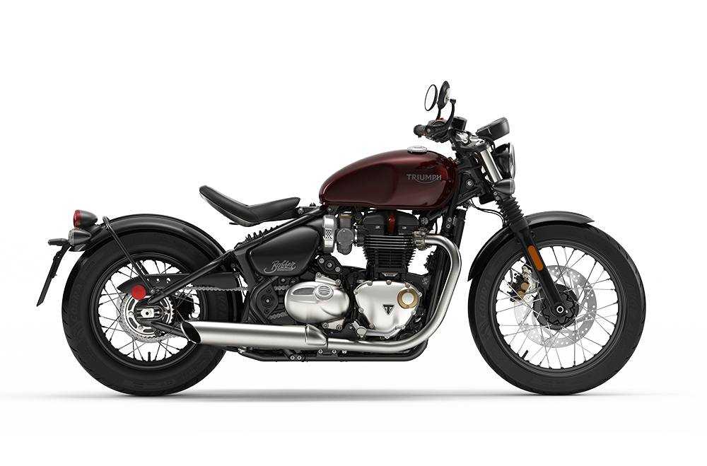 2019 triumph bonneville bobber (color)
