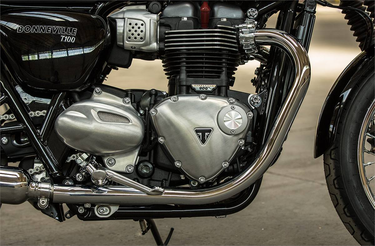 2019 Triumph Bonneville T100 Two Tone For Sale In Roseville Ca