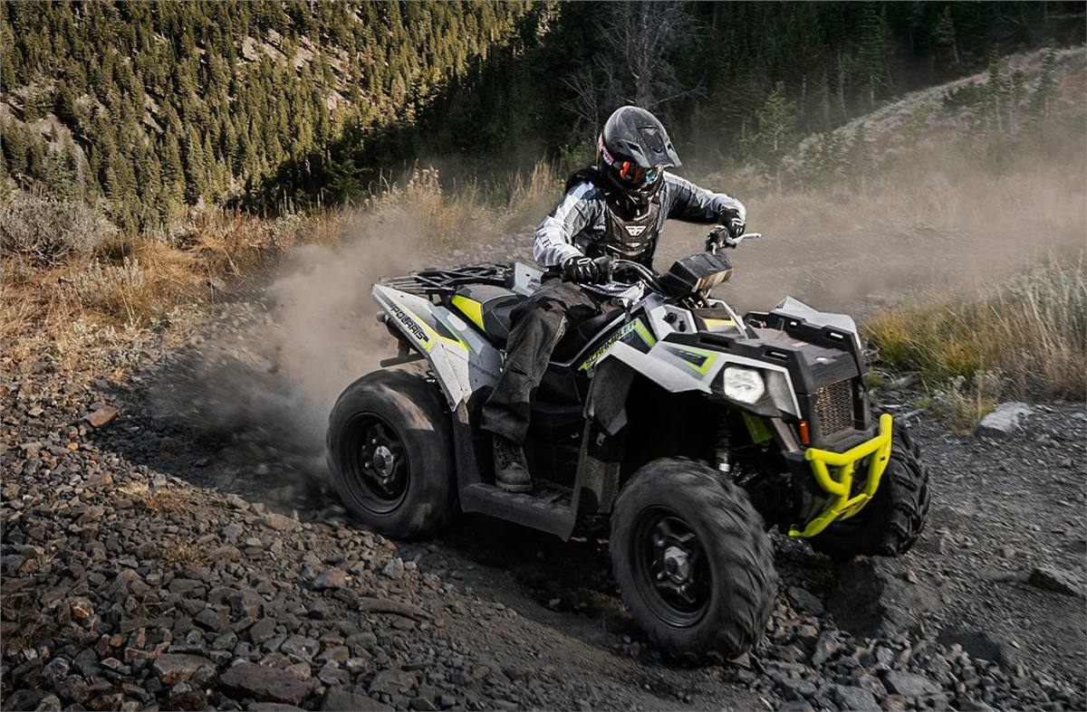 2019 Polaris Industries Scrambler® 850 - Ghost Gray