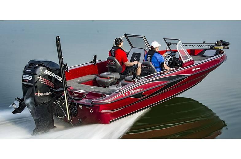 2019 Triton Boats 206 Fishunter for sale in Milledgeville