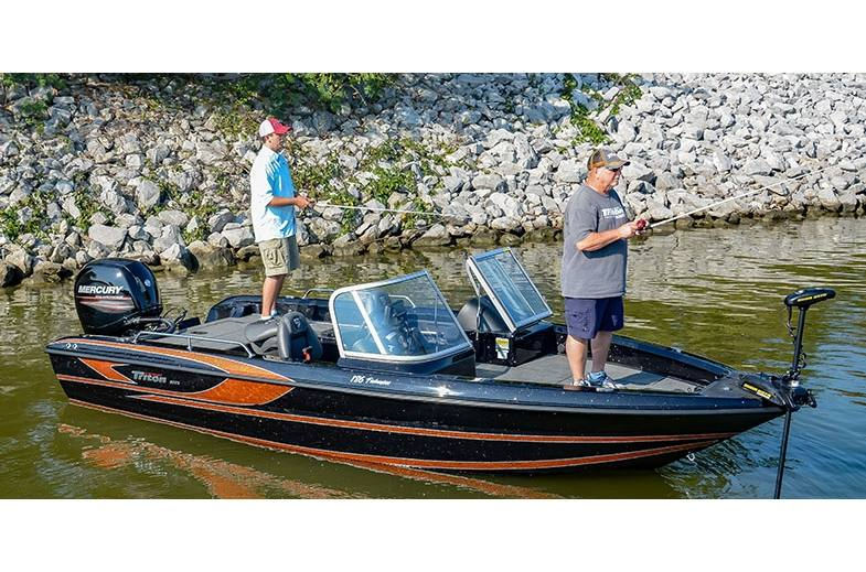 2019 Triton Boats 186 Fishunter for sale in Milledgeville