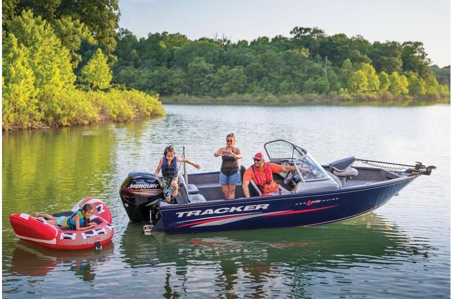 2019 Tracker Pro Guide™ V-175 Combo w/ 90 EXLPT FourStroke and Trailer