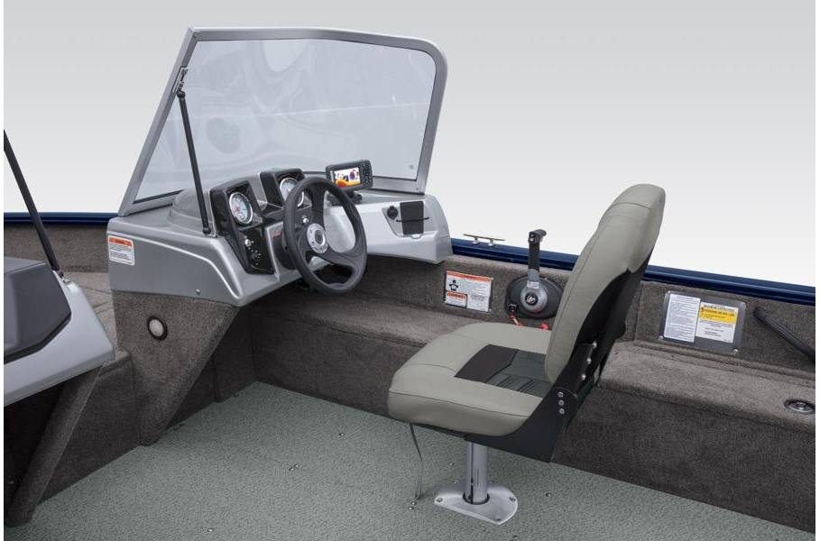 2019 Tracker Pro Guide™ V-16 WT 60HP Blue w/Carpet