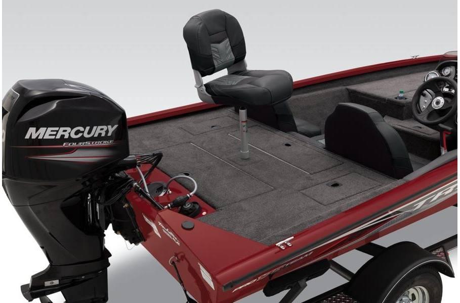 2019 Tracker Pro Team™ 175 TXW 75HP Black w/Carpet