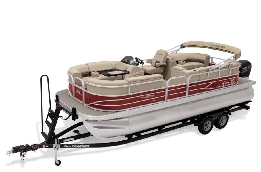 2019 sun tracker party barge� 22 xp3