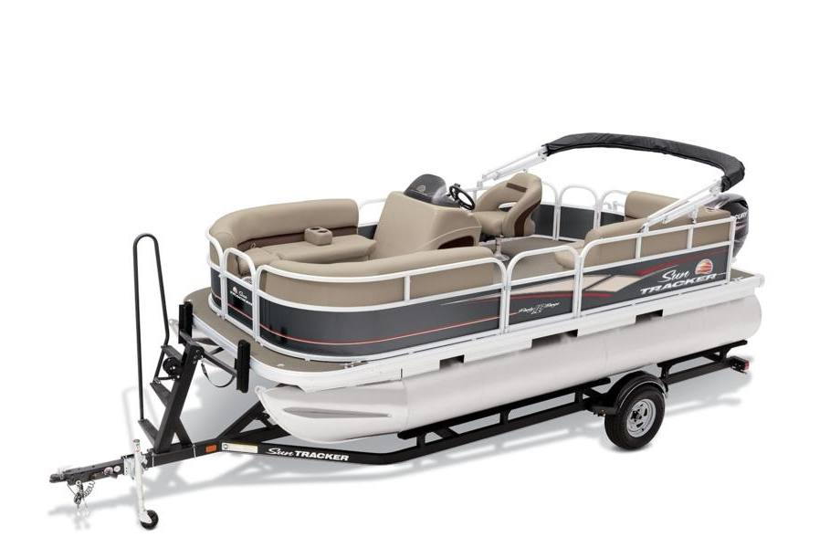 2019 sun tracker party barge� 18 dlx