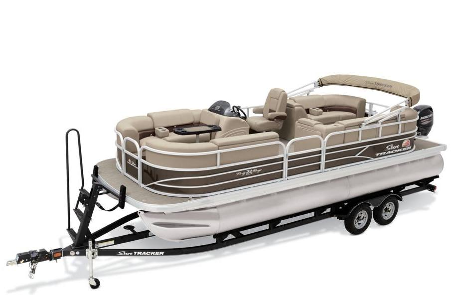 2019 sun tracker party barge� 22 dlx