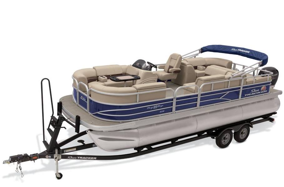2019 sun tracker party barge� 22 rf xp3