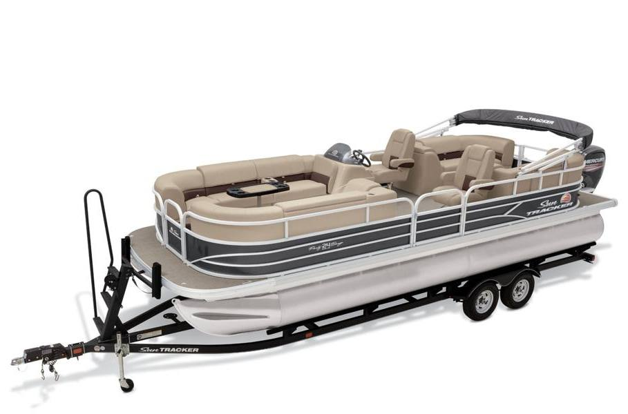 2019 sun tracker party barge� 24 dlx