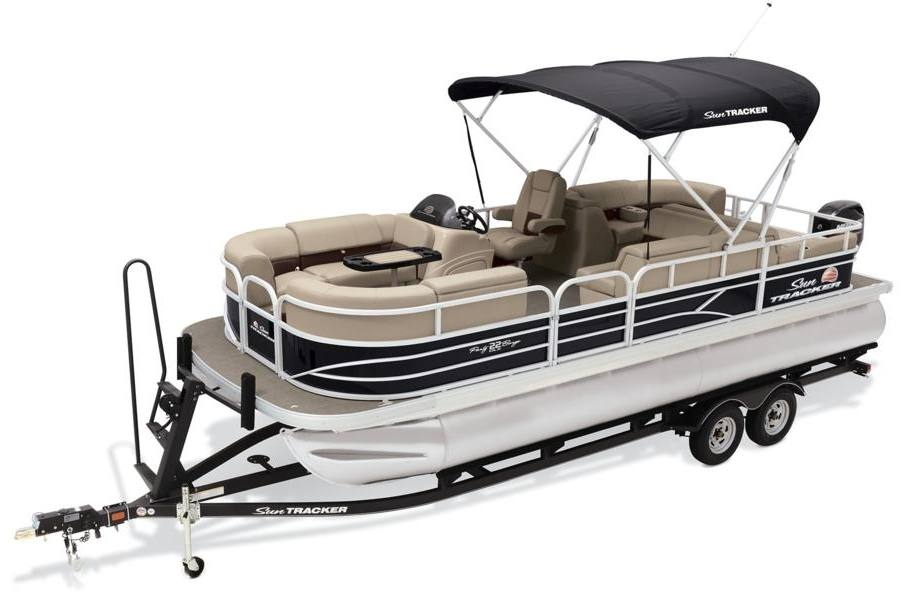 2019 sun tracker party barge� 22 rf dlx