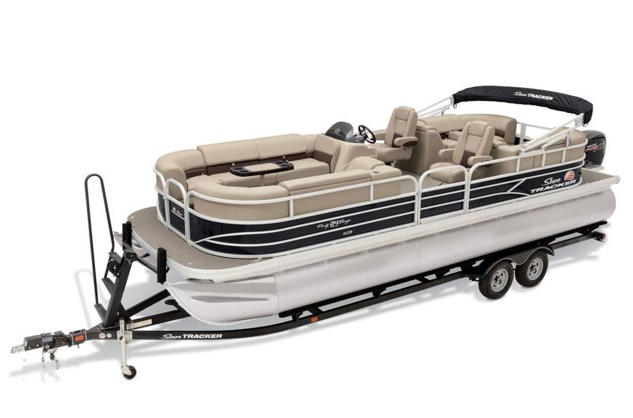 2019 sun tracker party barge� 24 xp3