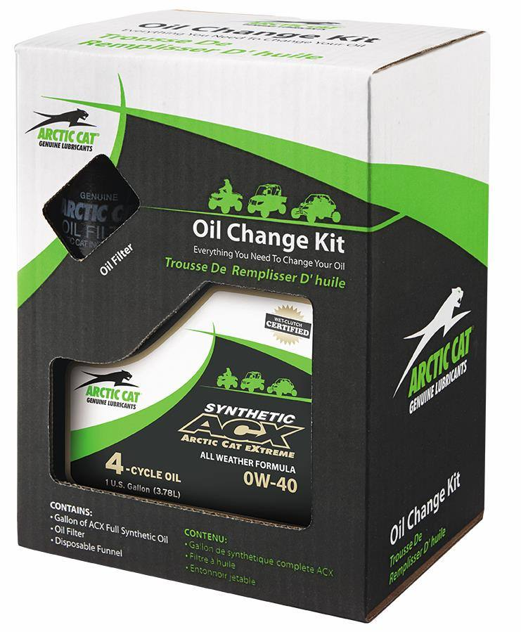 ACX Synthetic Oil Change Kit - 0W-40