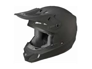 KINETIC MATTE BLACK RACING HELMET