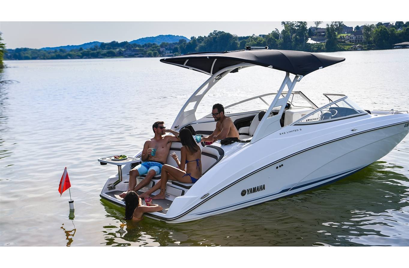 2019 Yamaha 242 Limited S E Series For Sale In Rockledge Fl Jet Boat Dual Battery Wiring Diagram Suede Gray