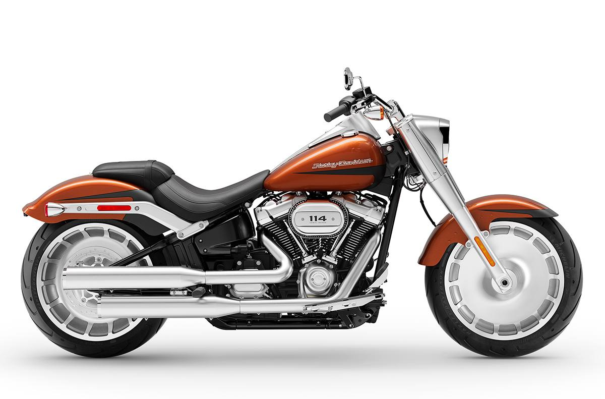 2019 Harley Davidson Fat Boy 114 Two Tone Custom Option