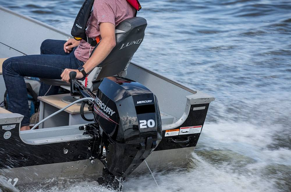 2019 Mercury FourStroke 20 HP EFI - 20 in  Shaft