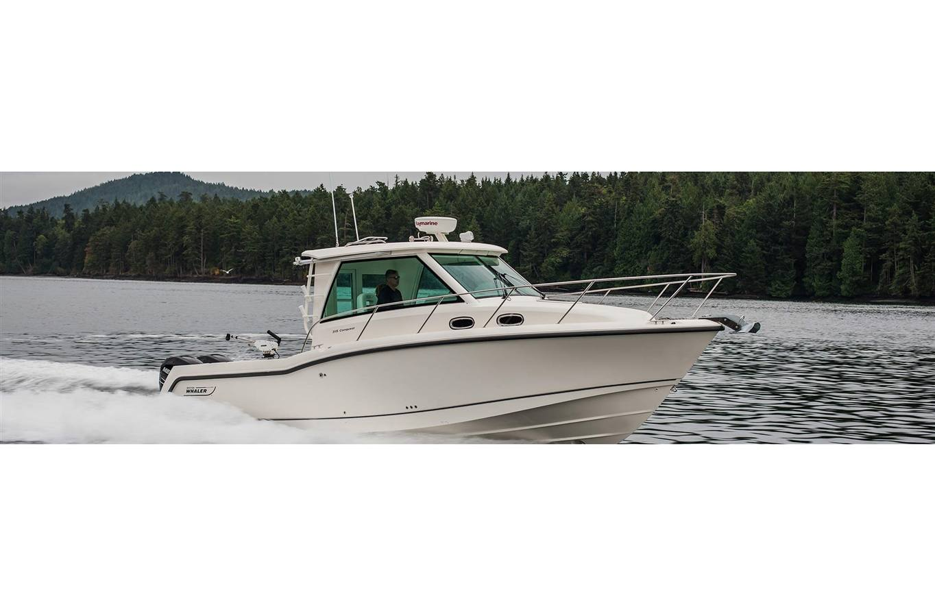 2019 Boston Whaler 315 Conquest Pilothouse for sale in
