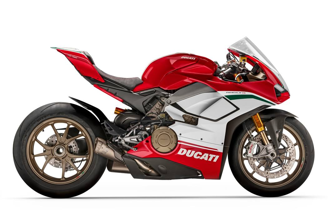 2019 ducati panigale v4 speciale with magnesium forged rims