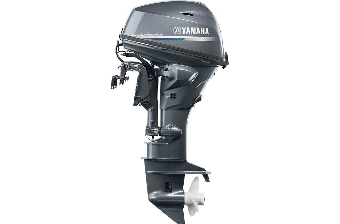 2020 Yamaha F25 - 20 in  Shaft Electric Start, Remote, Power Trim & Tilt