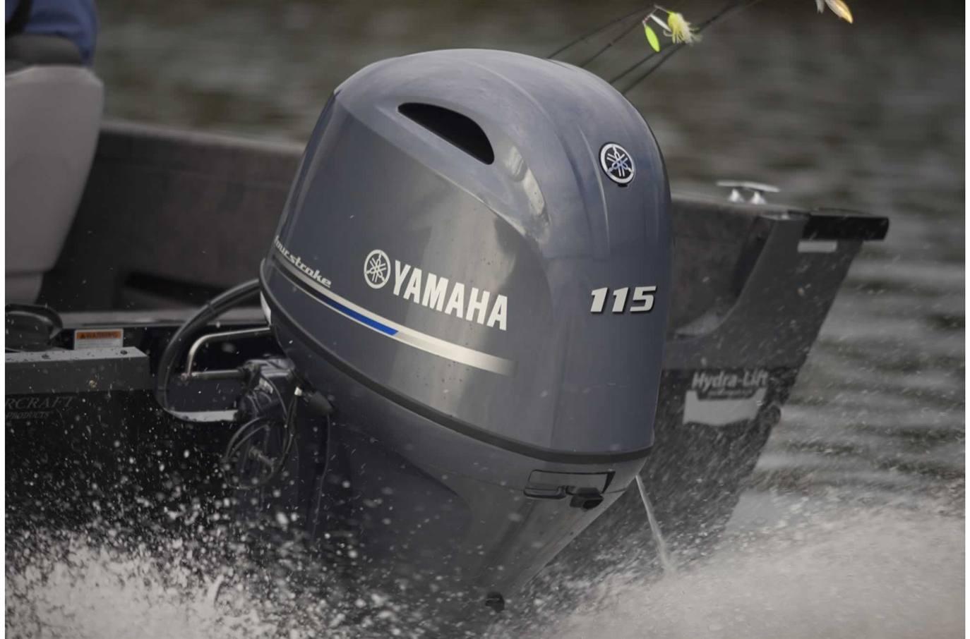 2019 Yamaha F115 - 20 in  Shaft