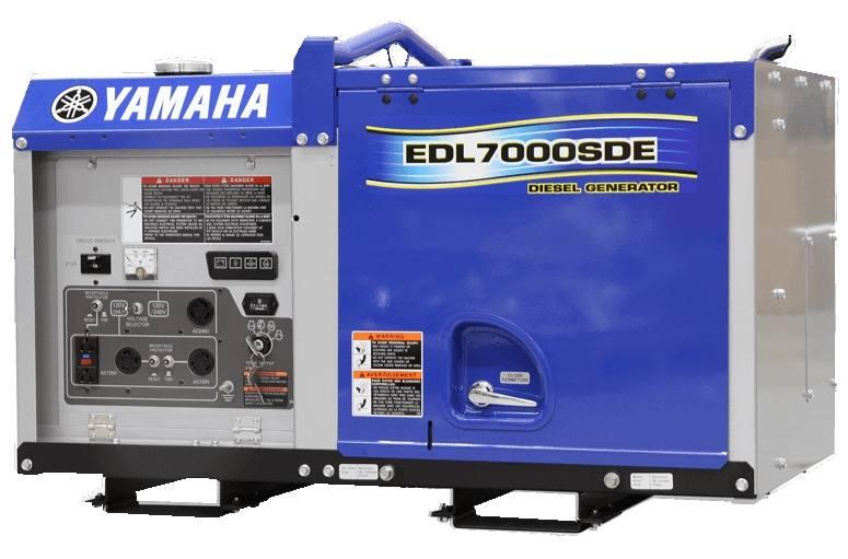 2019 Yamaha EDL7000SDE