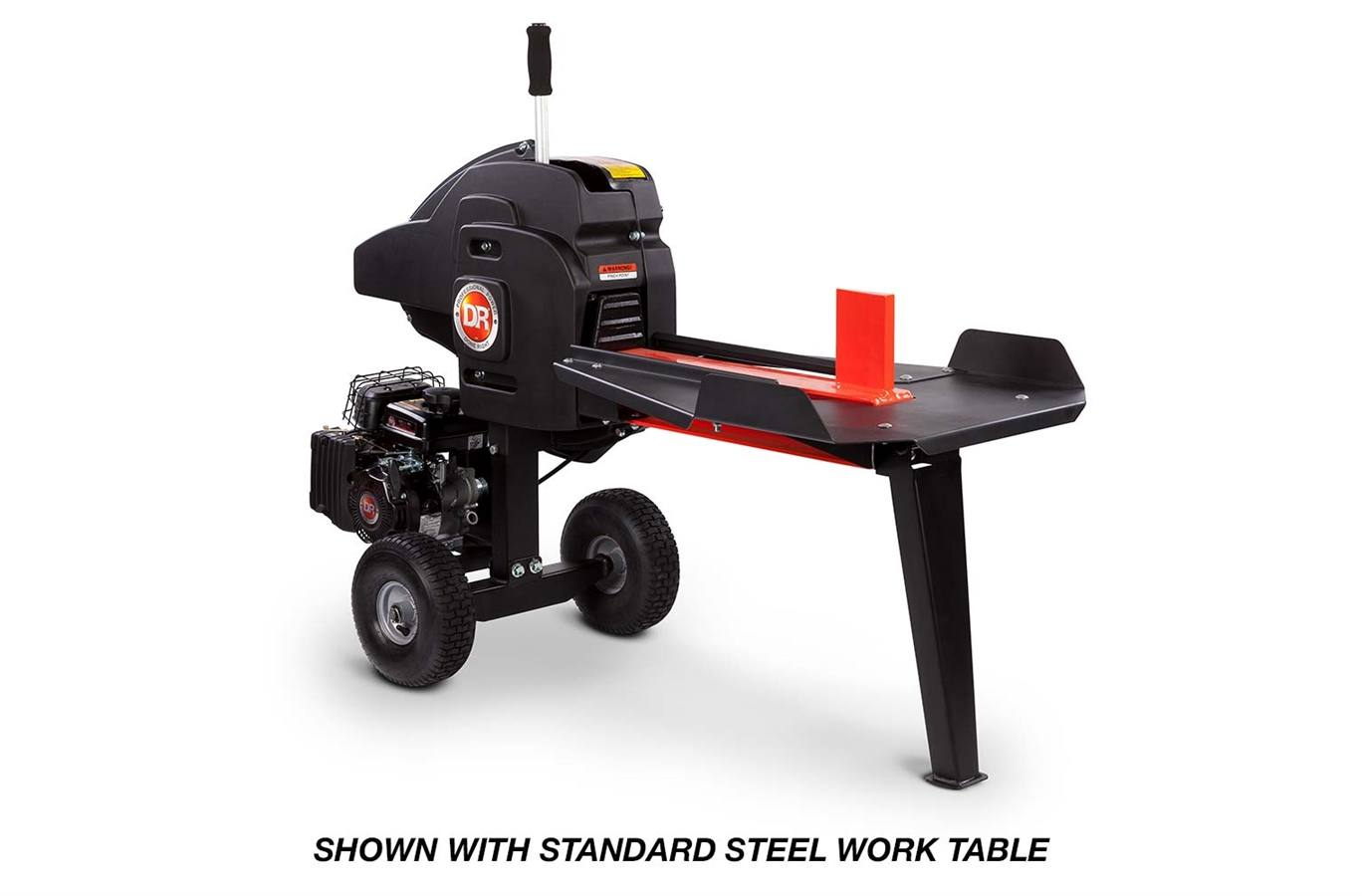 WR33122DMN DR RapidFire Flywheel Log Splitter With Heavy Duty Table