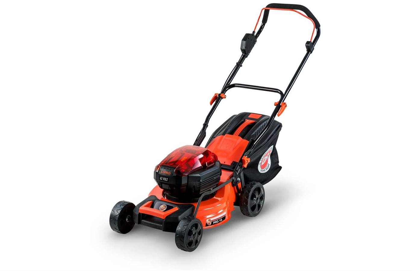 42412 DR 62V Battery-Powered Lawn Mower w/2 Batteries