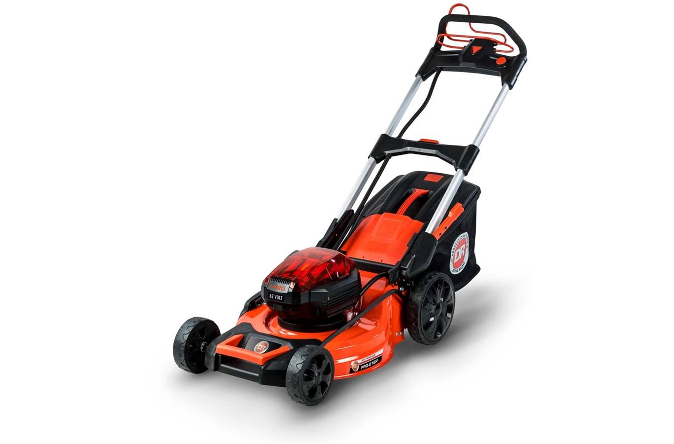 424140 DR 62V Battery-Powered Lawn Mower w/2 Batteries