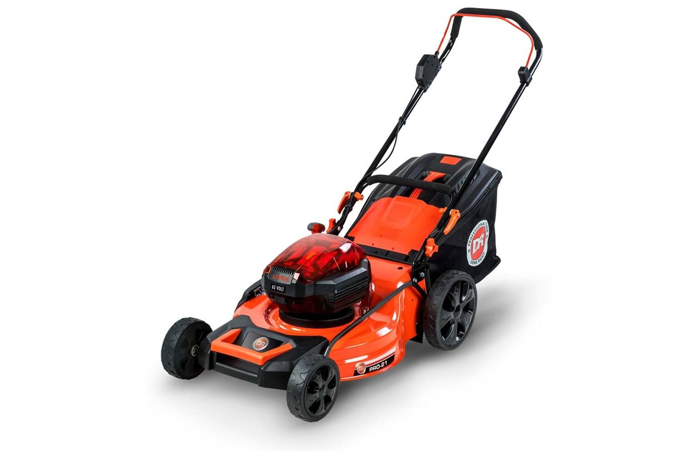 424130 DR 62V Battery-Powered Lawn Mower w/2 Batteries