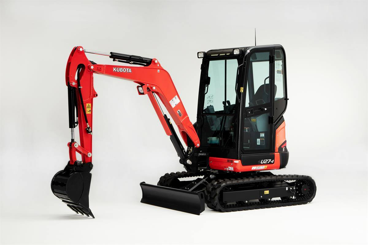 2019 Kubota U27-4 Tight Tail Swing Compact for sale in