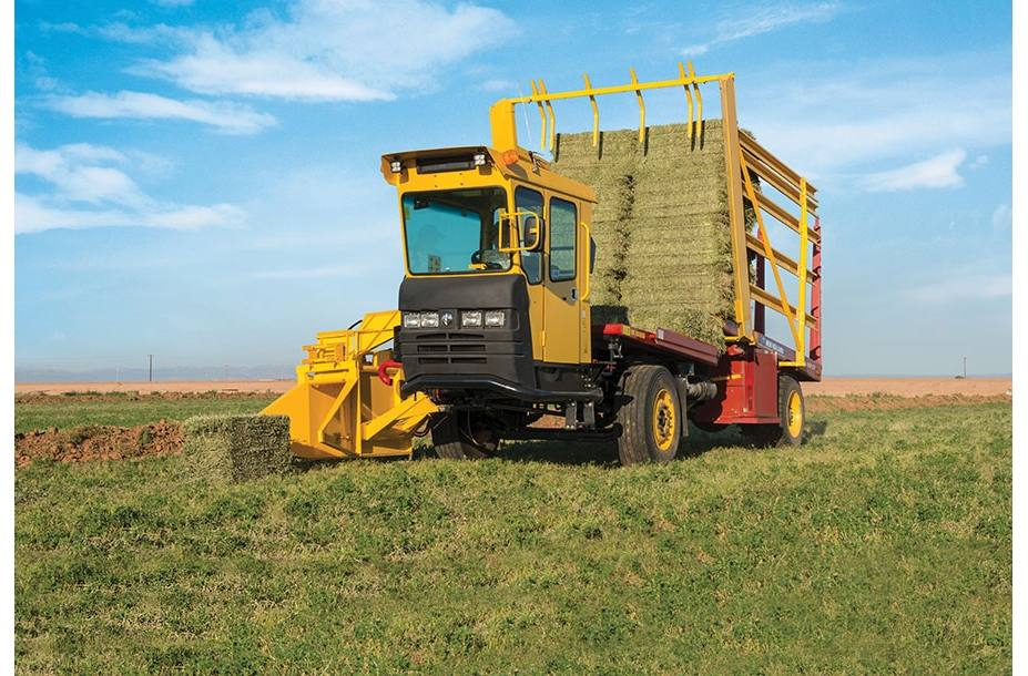 Agricultural Bale Racks from New Holland Agriculture and Kubota