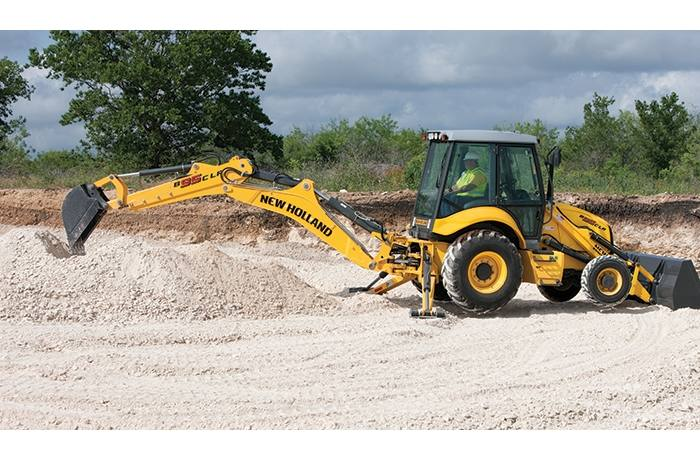2019 New Holland Construction B95C LR Backhoe Loader for
