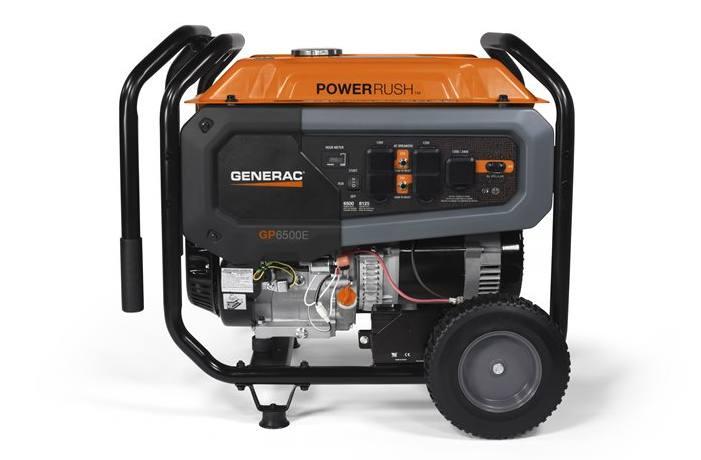 2019 Generac GP6500E 49ST/CSA Model #7682