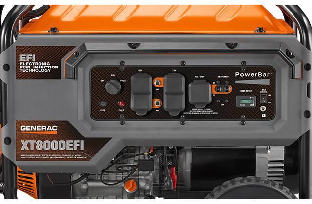 2019 Generac XT8000EFI Model #7162