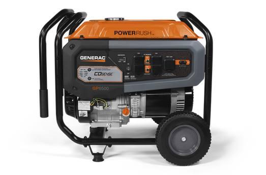 2019 Generac GP6500 CO-SENSE™ 49ST Model #7680
