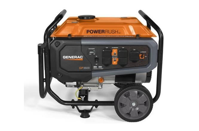 2019 Generac GP3600 50 ST Model #G0076780